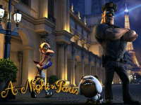 Ночь В Париже - игровой аппарат с бонусным раундом